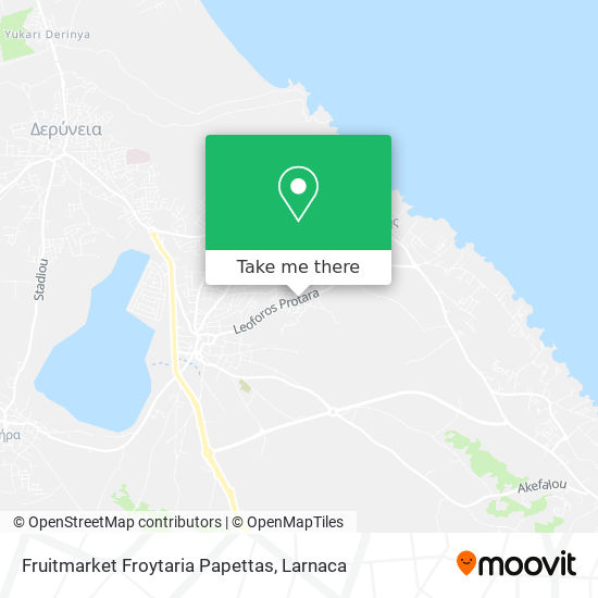 Fruitmarket Froytaria Papettas χάρτης