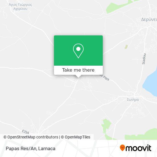 Papas Res/An χάρτης