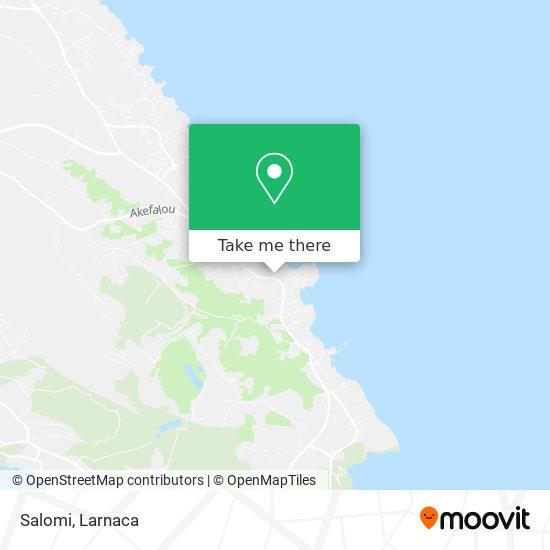 Salomi χάρτης