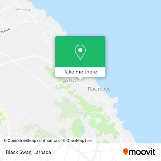 Black Swan χάρτης