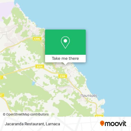 Jacaranda Restaurant χάρτης