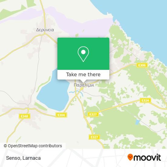 Senso χάρτης