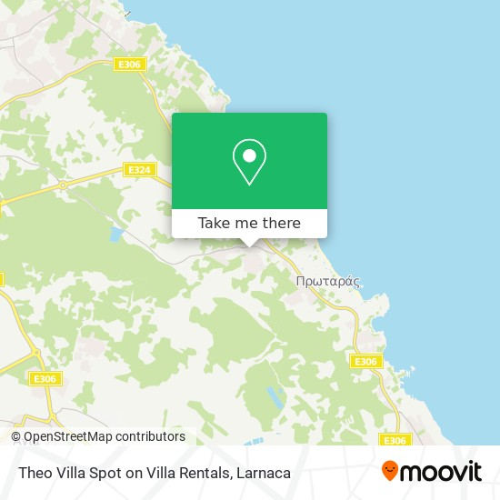 Theo Villa Spot On Villa Rentals χάρτης