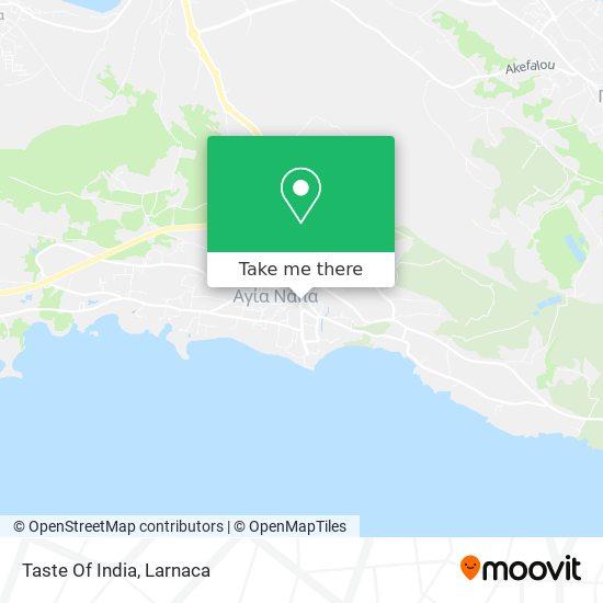 Taste Of India χάρτης