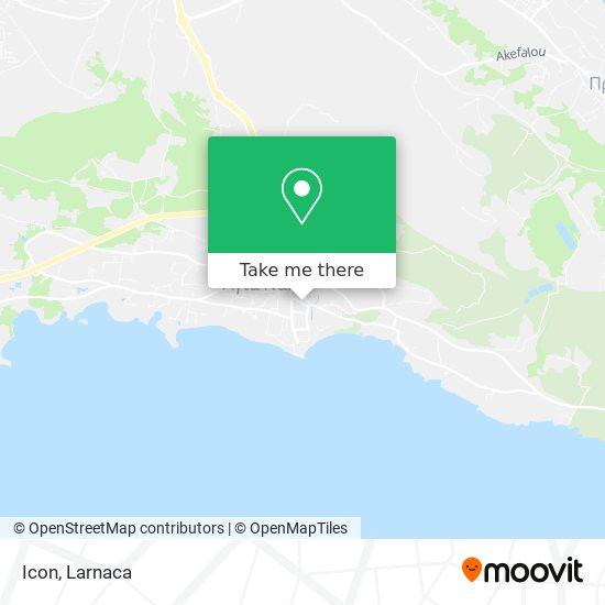 Icon χάρτης