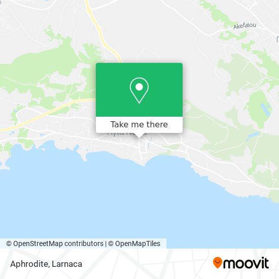 Aphrodite χάρτης
