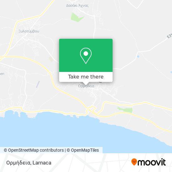 Ormedia χάρτης