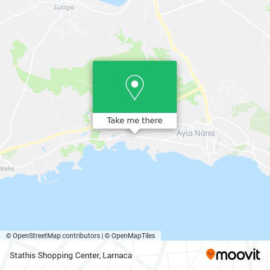 Stathis Shopping Center χάρτης