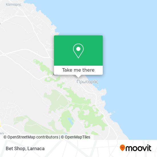 Bet Shop χάρτης