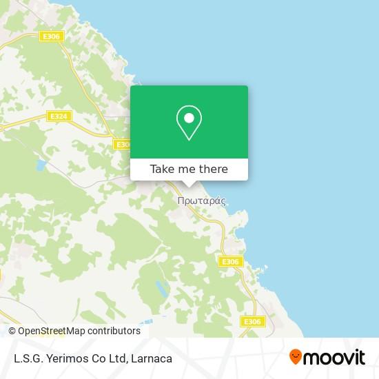 L.S.G. Yerimos Co Ltd χάρτης