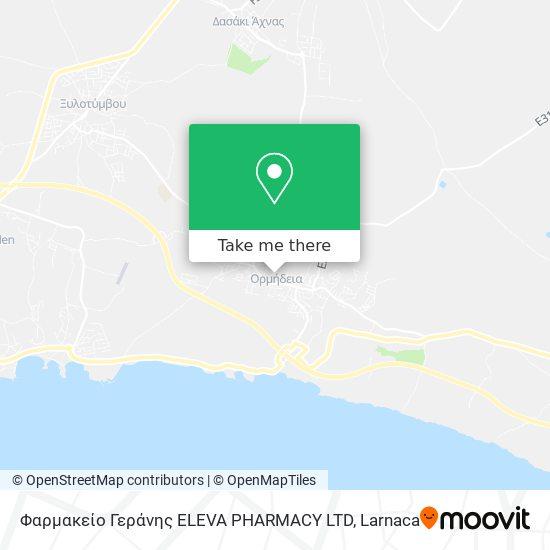 Φαρμακείο Γεράνης ELEVA PHARMACY LTD χάρτης