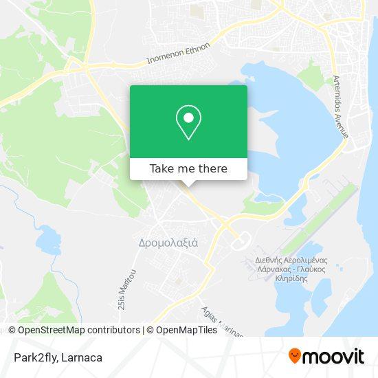 Park2fly χάρτης