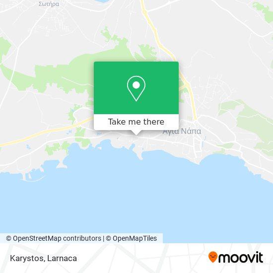 Karystos χάρτης