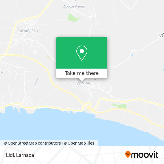 Lidl χάρτης