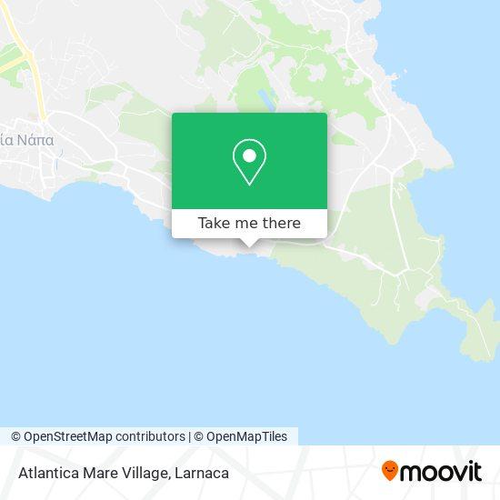 Atlantica Mare Village χάρτης