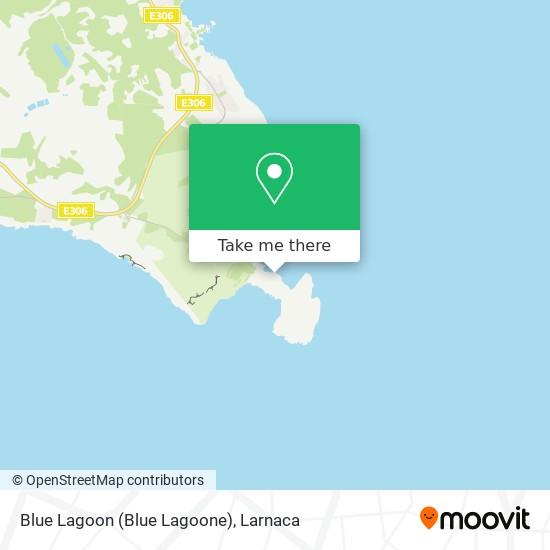 Blue Lagoon (Blue Lagoone) χάρτης