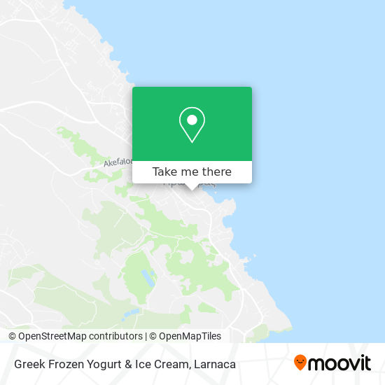 Greek Frozen Yogurt & Ice Cream χάρτης
