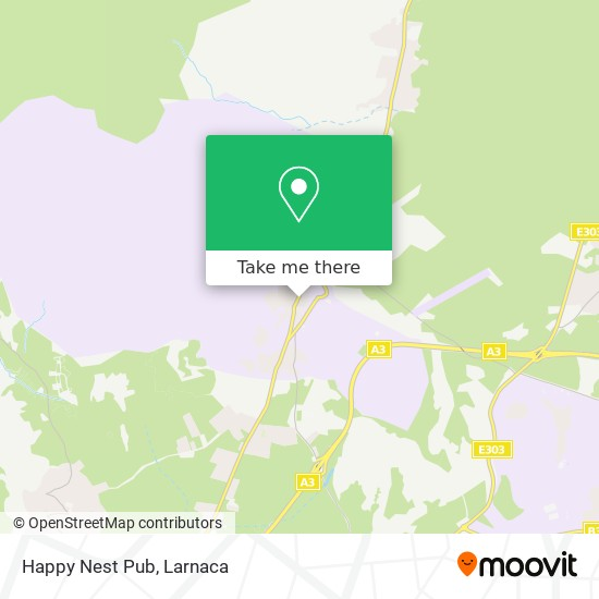 Happy Nest Pub χάρτης