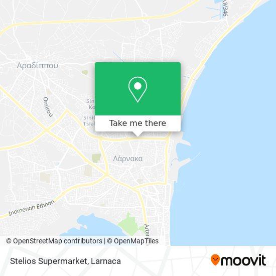 Stelios Supermarket χάρτης