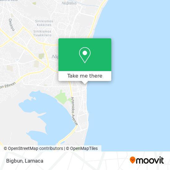 Bigbun χάρτης
