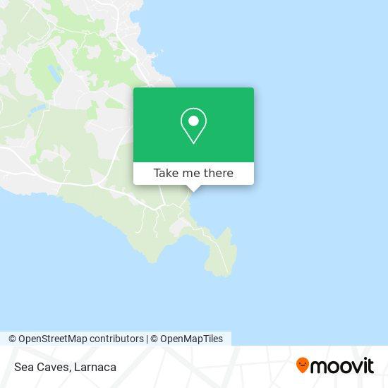 Sea Caves χάρτης