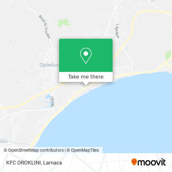 KFC OROKLINI χάρτης