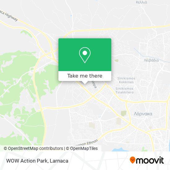 WOW Action Park χάρτης