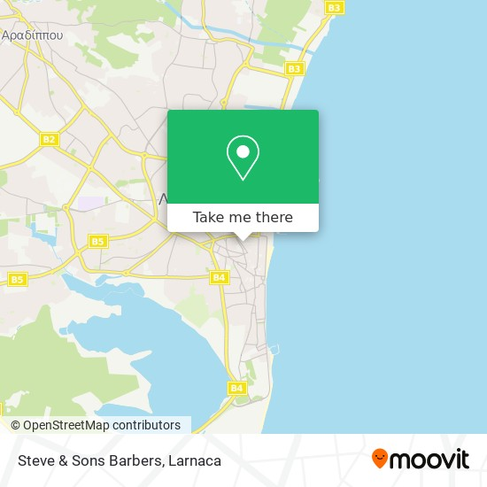 Steve & Sons Barbers χάρτης