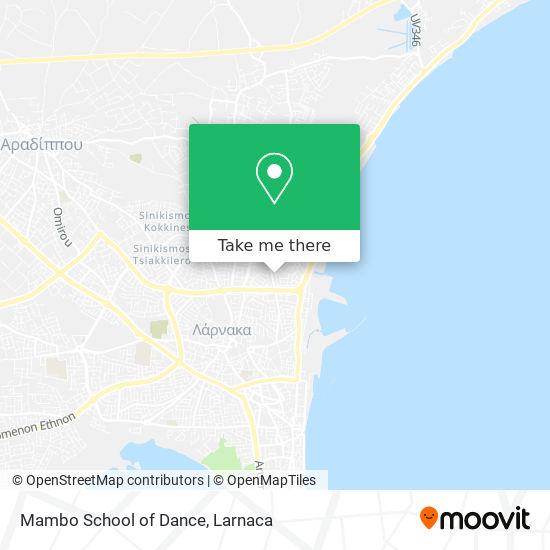 Mambo School of Dance χάρτης