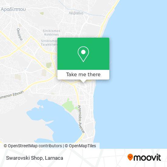 Swarovski Shop χάρτης
