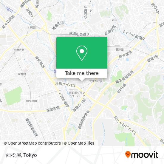 西松屋 map