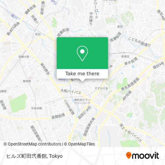ヒルズ町田弐番館 map