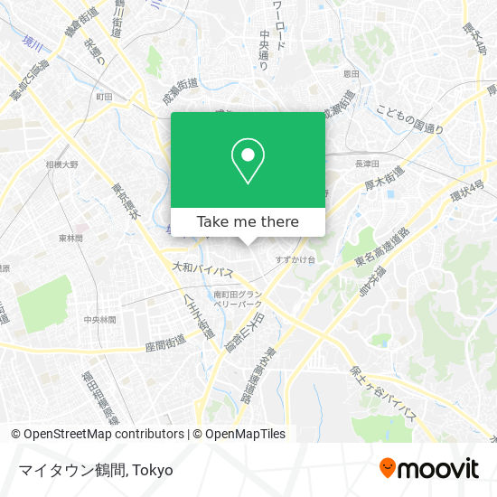 マイタウン鶴間 map