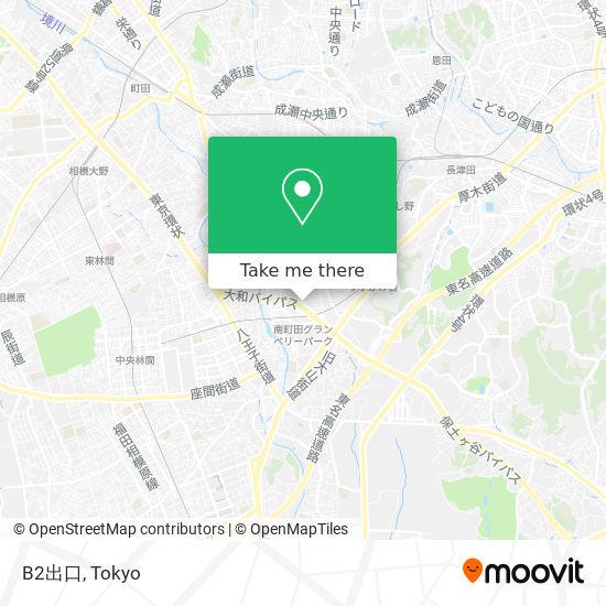 B2出口 map