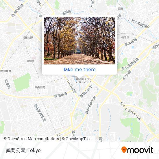 鶴間公園 map