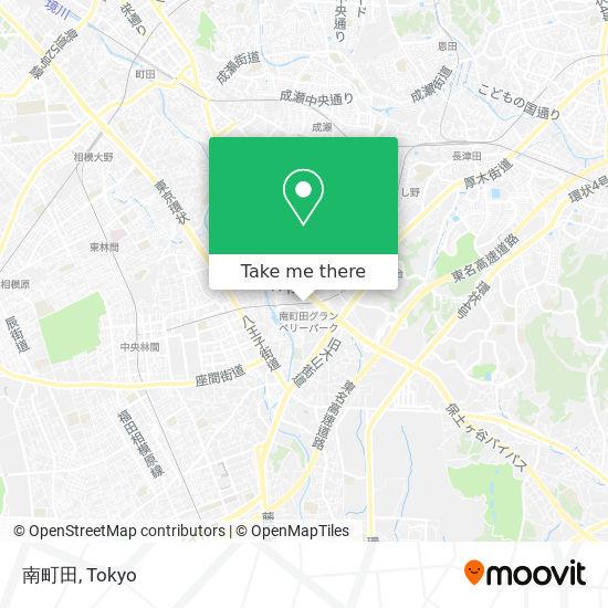 南町田 map