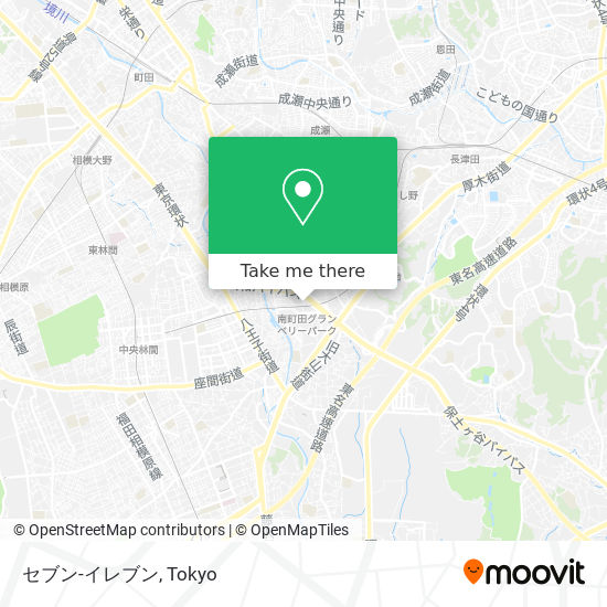 セブン-イレブン map