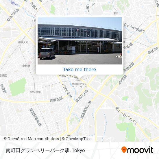 南町田駅 map