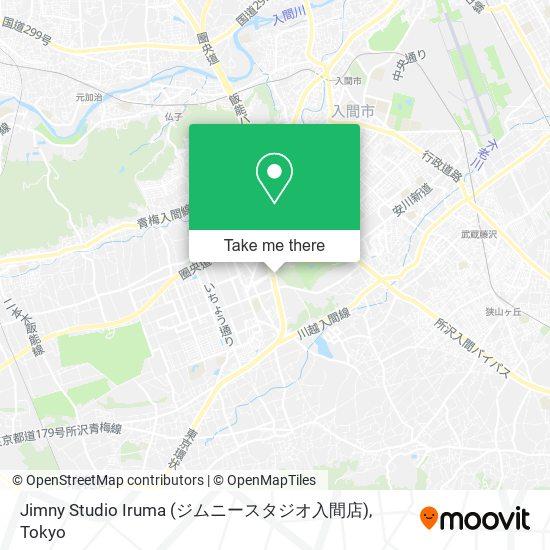 Jimny Studio Iruma (ジムニースタジオ入間店) map