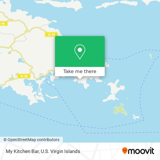 How To Get To My Kitchen Bar In Saint Thomas By Bus Or Ferry Moovit