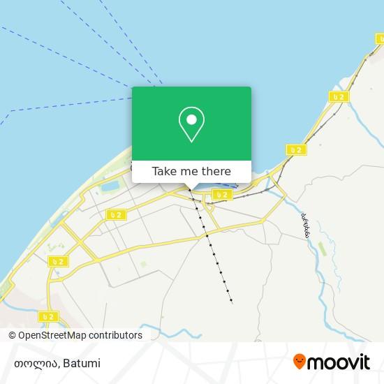 თოლია map