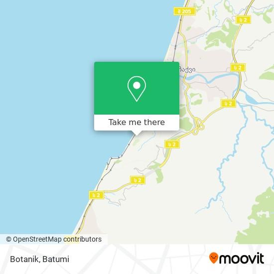 Botanik map