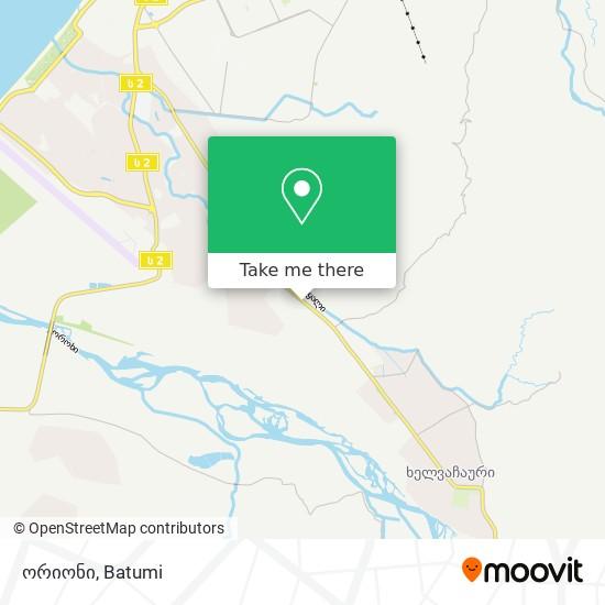 ორიონი map