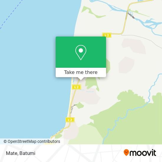 Mate map