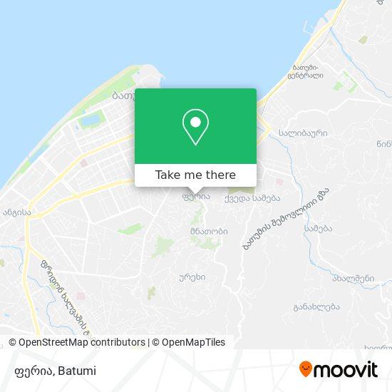 ფერია map