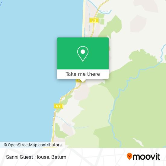 Sanni Guest House map