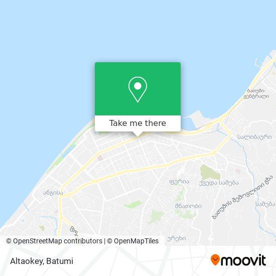 Altaokey map