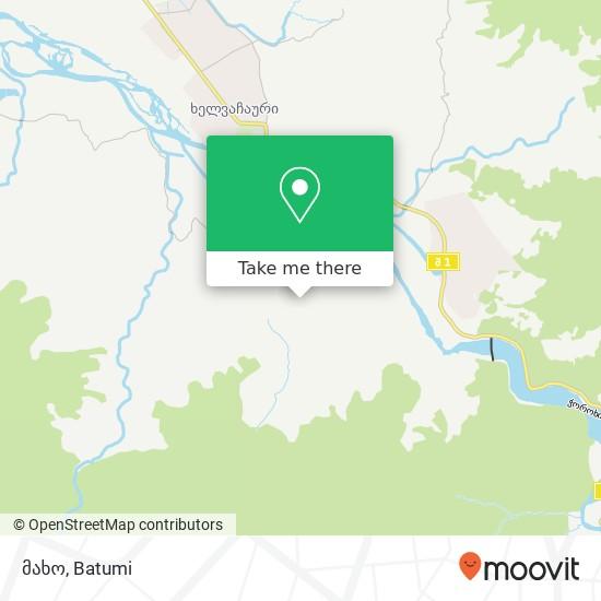 მახო map