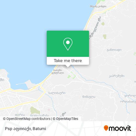 Psp აფთიაქი map