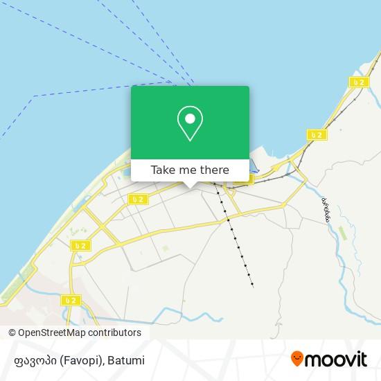 ფავოპი (Favopi) map